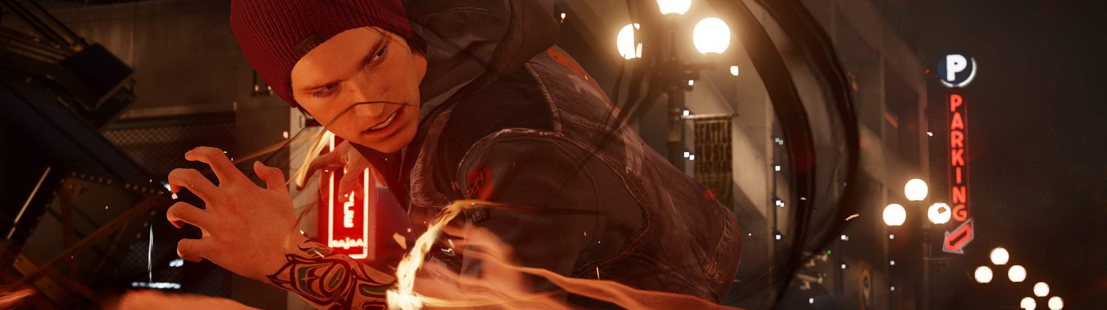 Infamous second son delson smoke power